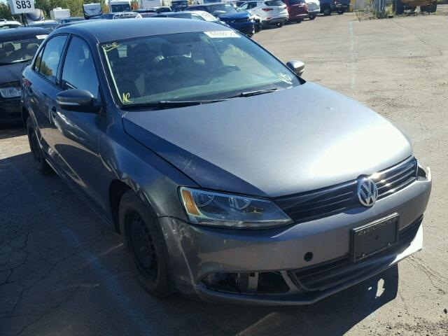 Salvage 2014 Volkswagen JETTA BASE for sale