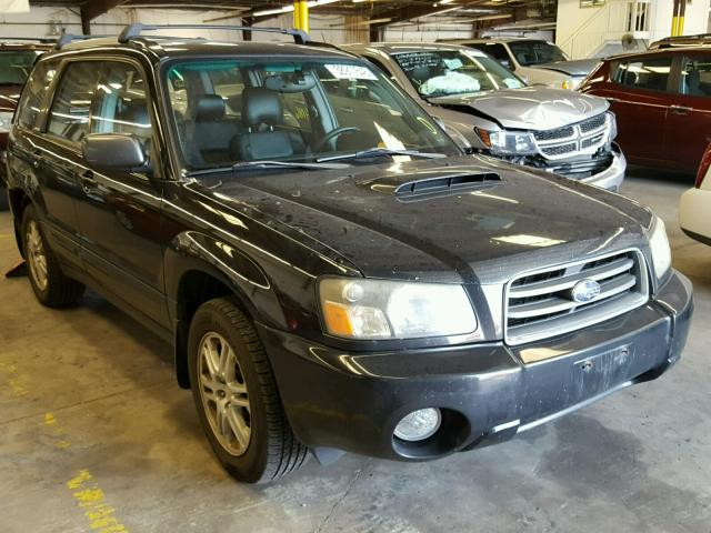 Jf1sg69604h728316 2004 Black Subaru Forester 2 On Sale In Co