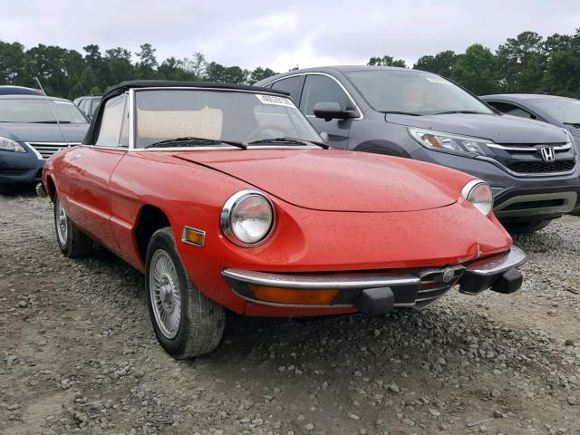 RED ALFA ROMEO SPIDER On Sale In GA ATLANTA SOUTH - Alfa romeo spider 1974 for sale