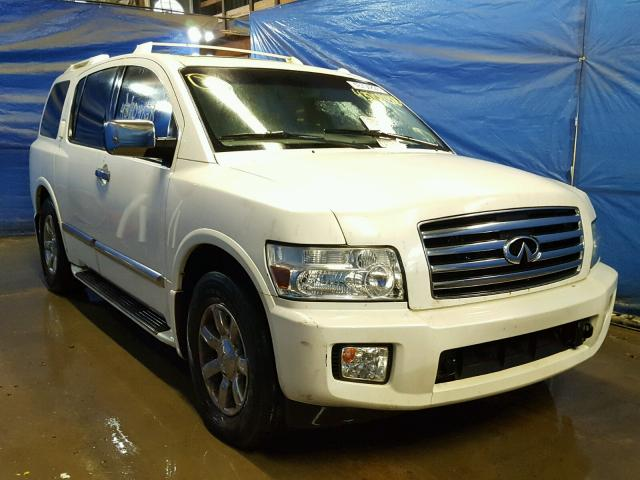 5n3aa08c56n801537 2006 White Infiniti Qx56 On Sale In Pa
