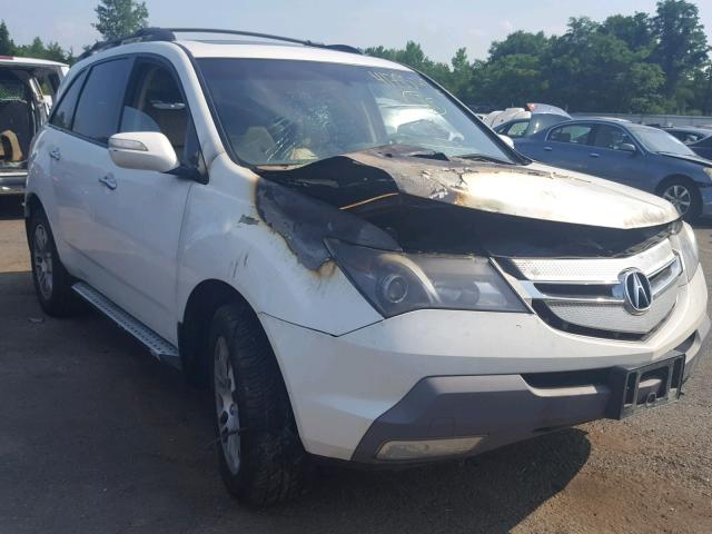 HNYDH WHITE ACURA MDX TECHNO On Sale In CT - Acura mdx for sale in ct