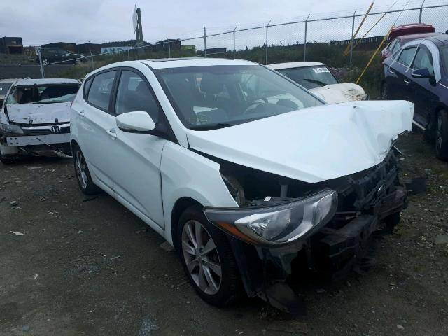 Salvage 2013 Hyundai ACCENT GLS for sale