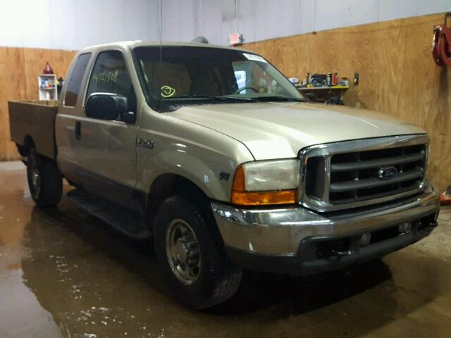 Salvage 2001 Ford F250 SUPER for sale