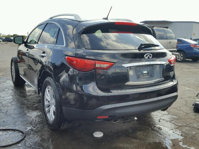 Salvage Certificate 2012 Infiniti Fx35 4dr Spor 35l 6 For Sale In