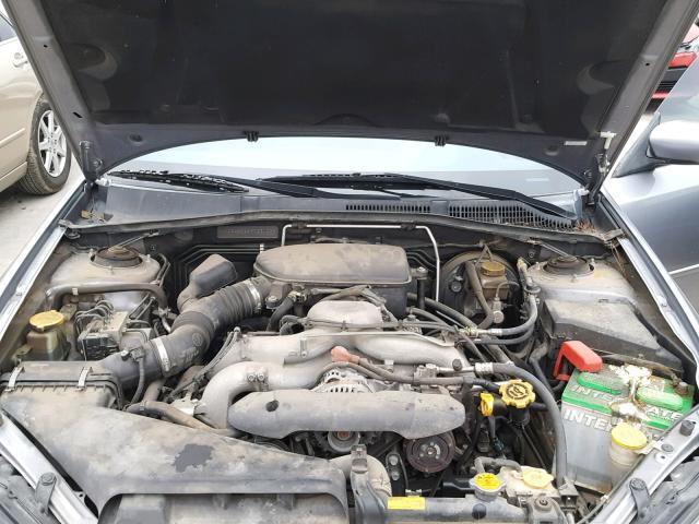2009 Subaru Legacy 2.5 2.5L