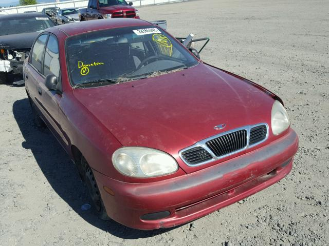 Auto Auction Ended On VIN KLATA52691B660365 2001 Daewoo Lanos S In WA