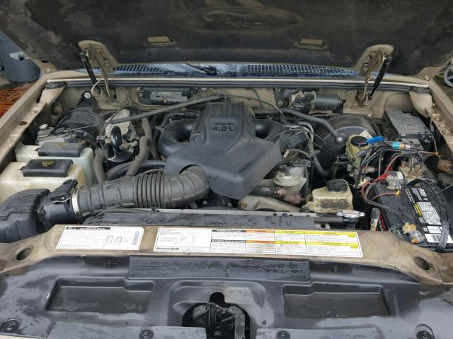 2001 FORD EXPLORER S 4.0L