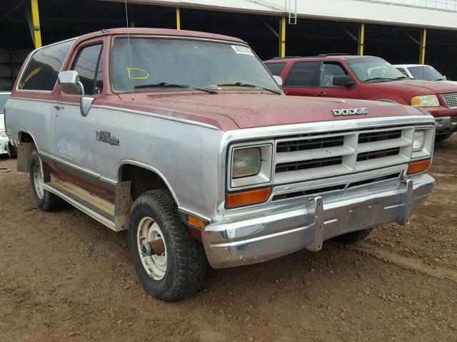 3b4gw02y9jm822677 1988 Dodge Ramcharger In Az Phoenix