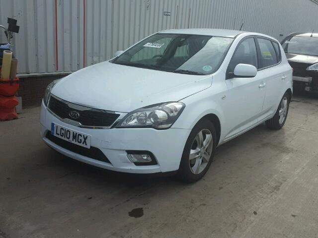 2010 Kia Ceed 2 For Sale At Copart Uk Salvage Car Auctions