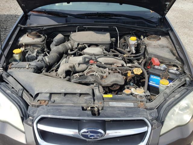 Flood Salvage 2008 Subaru Legacy Sedan 4d 25l 4 For Sale In Elgin