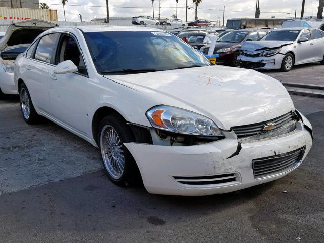 2008 Chevrolet Impala Lt Left Front View Lot 32056399