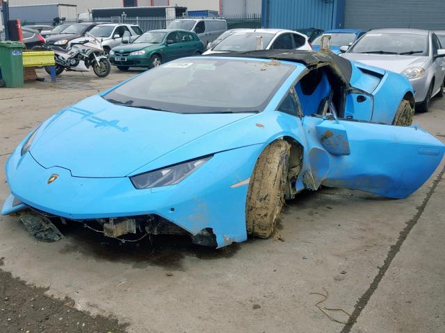 2017 Lamborghini Huracan Lp For Sale At Copart Uk Salvage Car Auctions