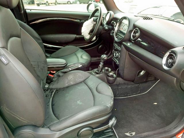 пригнать из сша 2012 Mini Cooper S 1.6L WMWSV3C59CT385531