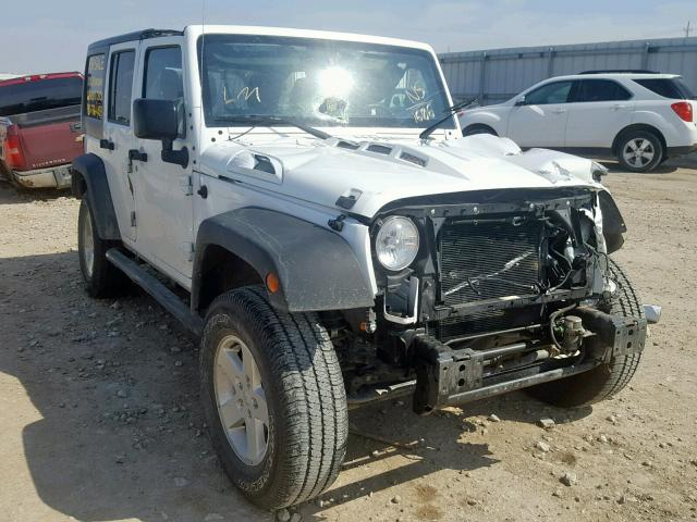 Salvage cars for sale from Copart Greenwood, NE: 2016 Jeep Wrangler U
