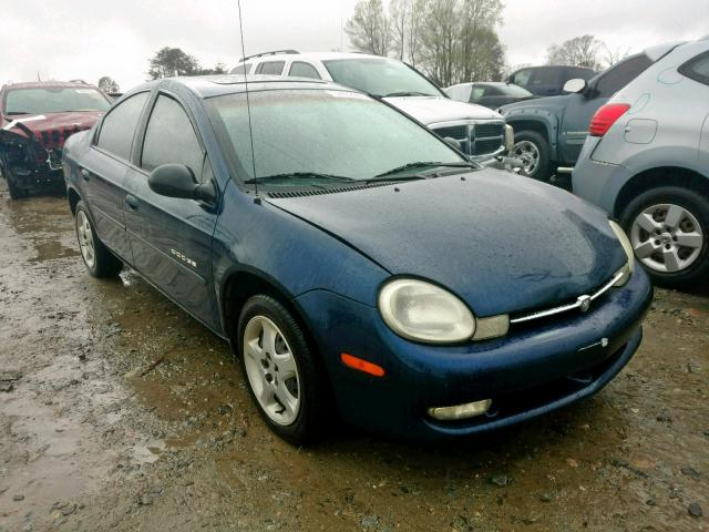 2001 Dodge Neon Se Left Front View Lot 32462669