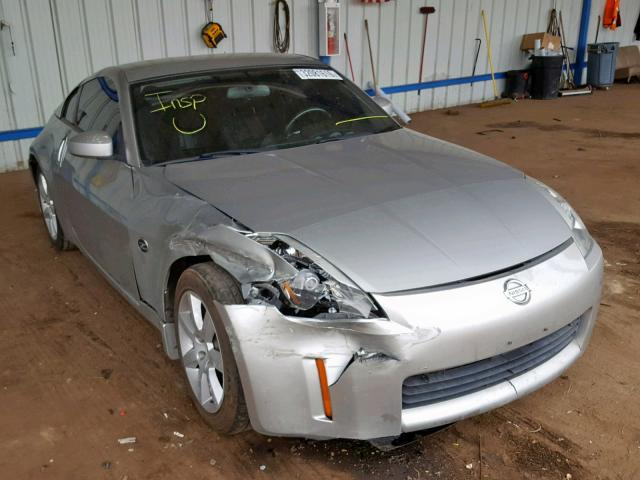 Nissan 350Z Coupe salvage cars for sale: 2005 Nissan 350Z Coupe