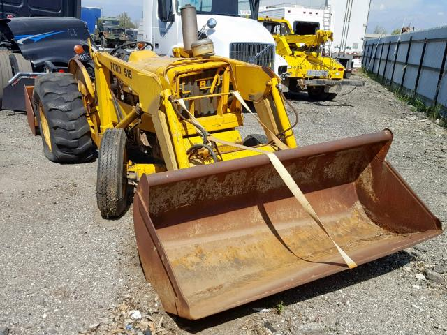 Auto Auction Ended on VIN: C580859 1980 Ford Tractor in CA