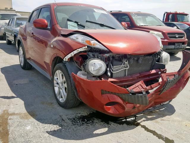Salvage 2012 Nissan JUKE S for sale
