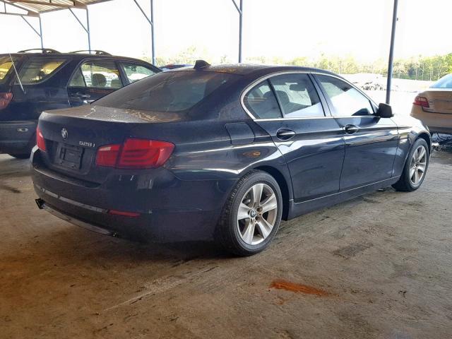 2012 Bmw 528 I 2.0L rear view