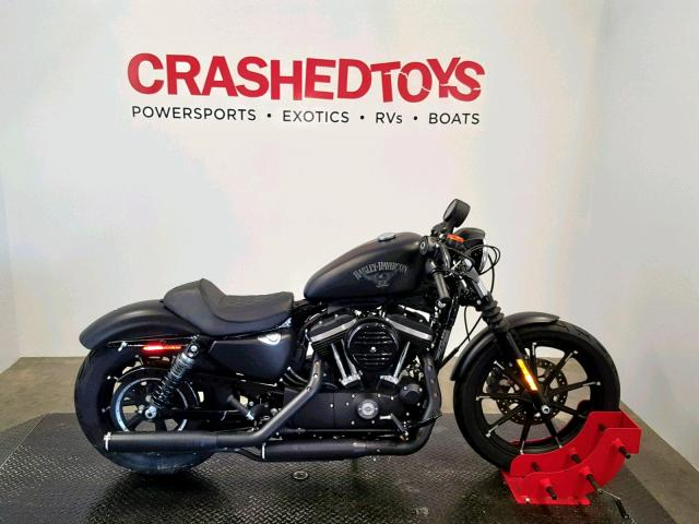 click here to view 2018 HARLEY-DAVIDSON XL883 IRON at IBIDSAFELY