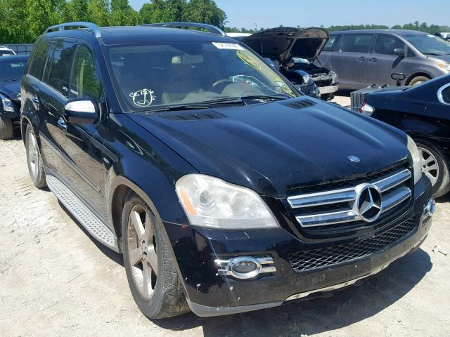 Salvage 2009 Mercedes-Benz GL for sale