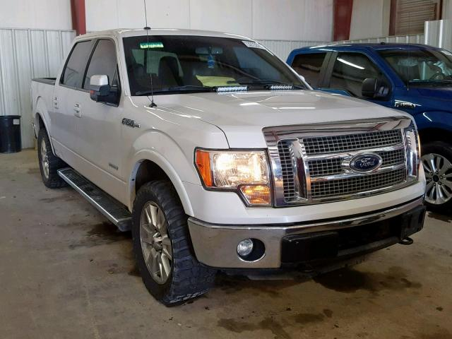 Salvage cars for sale from Copart Mercedes, TX: 2012 Ford F150 Super