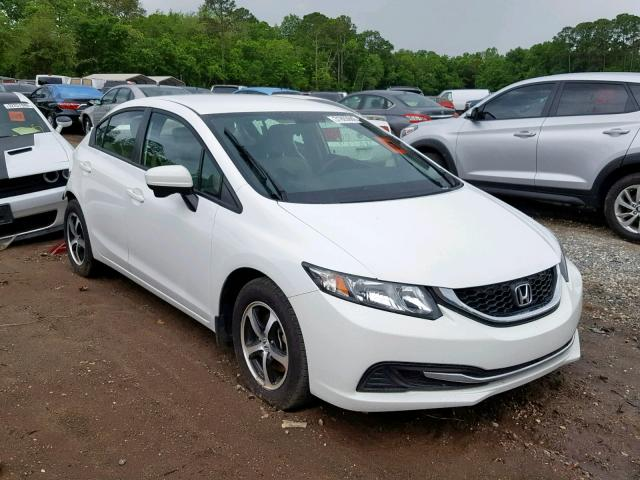 2015 Honda Civic Sedan 4d 18l 4 Gas White للبيع Jacksonville