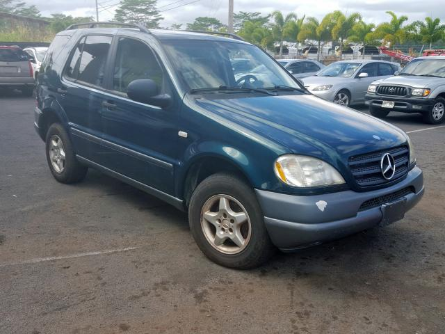 Mercedes-Benz ML 320 salvage cars for sale: 1999 Mercedes-Benz ML 320