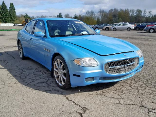 click here to view 2008 MASERATI QUATTROPOR at IBIDSAFELY