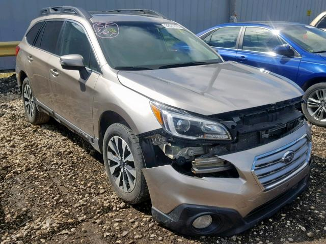 2016 Subaru Outback 3 Left Front View Lot 32527779