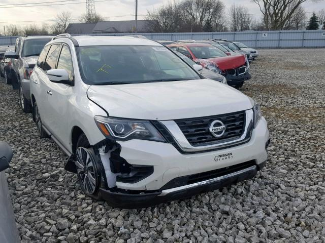 Salvage 2019 Nissan PATHFINDER for sale