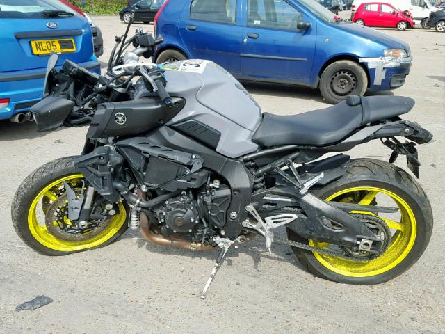 2018 YAMAHA MT-10 MTN1 for sale at Copart UK - Salvage Car