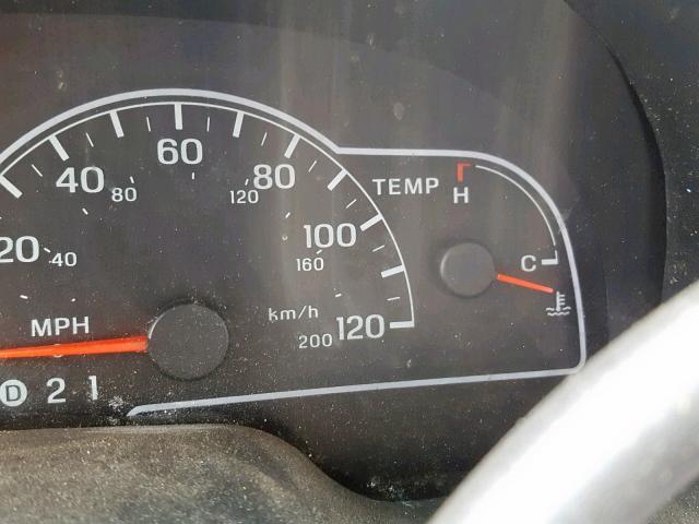Vin 2fmza5245ybb78462 2000 Ford Windstar S Odometer View Lot 33140939