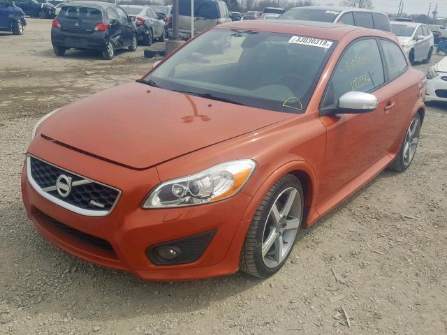 2011 Volvo C30 T5 2 5l 5 For Sale In Indianapolis In Lot 33030319