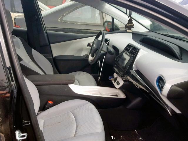 Vin Jtdkarfu7g3001837 2016 Toyota Prius Interior View Lot 32551829