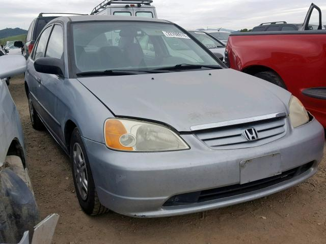 2001 Honda Civic Gx Left Front View Lot 32708919