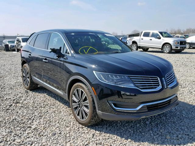 click here to view 2017 LINCOLN MKX BLACK at IBIDSAFELY