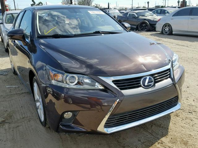 click here to view 2016 LEXUS CT 200 at IBIDSAFELY