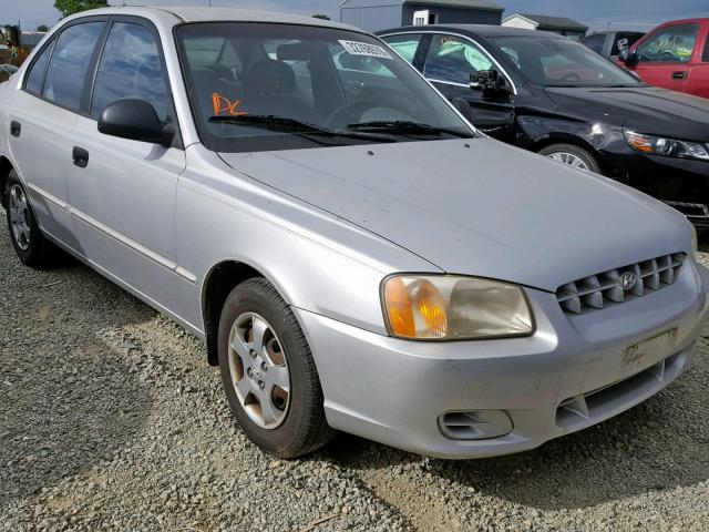auto auction ended on vin kmhcg45c12u392965 2002 hyundai accent gl in ca antelope 2002 hyundai accent gl