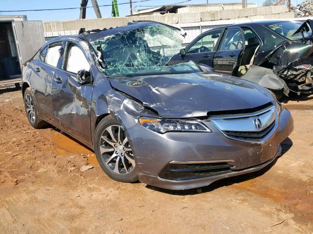Salvage 2017 Acura TLX TECH for sale