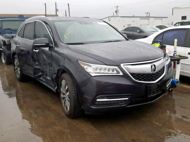 click here to view 2015 ACURA MDX TECHNO at IBIDSAFELY