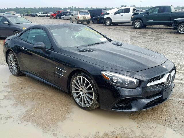 click here to view 2017 MERCEDES-BENZ SL 550 at IBIDSAFELY