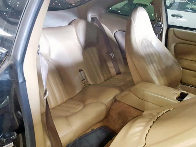 1997 Jaguar XK8 Coupe 4 0L 8 Gas - Black - للبيع - Lansing
