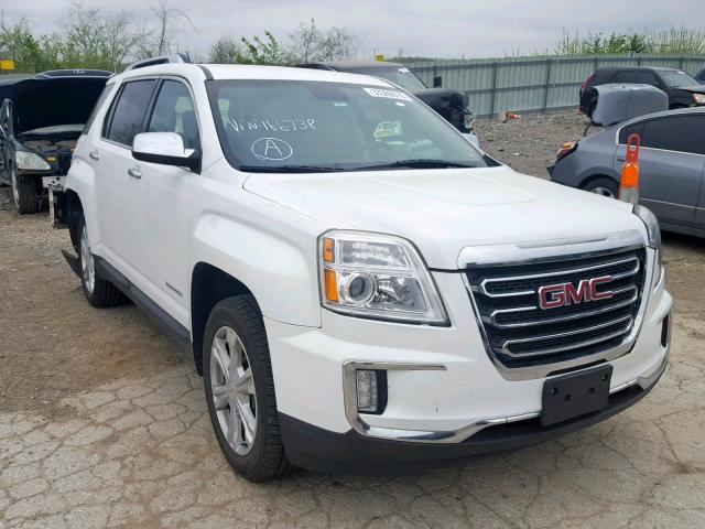 Salvage 2016 GMC TERRAIN SL for sale
