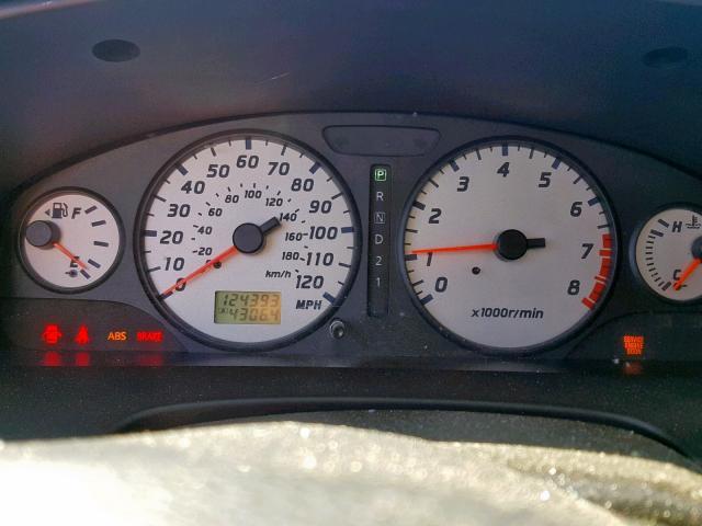 Vin Jn8dr09yx3w823427 2003 Nissan Pathfinder Odometer View Lot 33384659