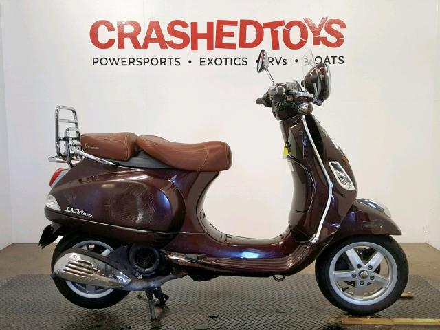 click here to view 2012 VESPA LX 150IE at IBIDSAFELY