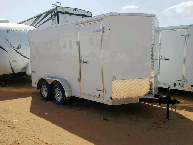 Salvage 2019 Contender CARGO TRAILER for sale