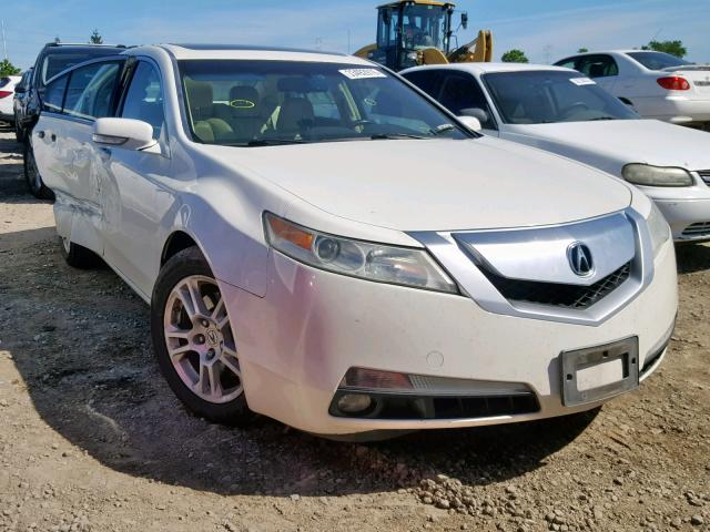 Salvage 2010 Acura TL for sale