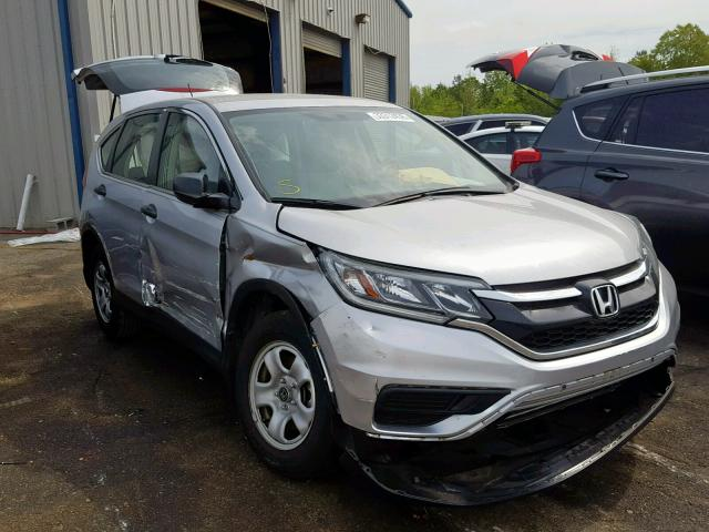 2016 Honda Cr V Lx Left Front View Lot 33312439