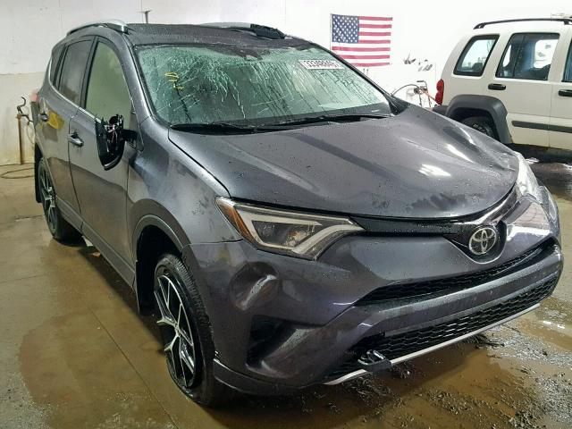 Salvage 2018 Toyota RAV4 SE for sale
